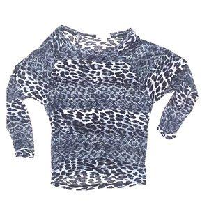 MICHAEL Michael Kors Tops - Michael Kors animal print shirt